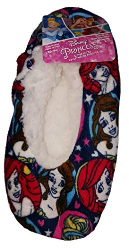 Disney Princesses Slipper Socks - S/M -
