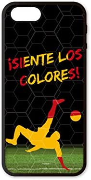 Funda móvil iPhone 5/5s/SE Mundial Rusia 2018 España Siente Los ...