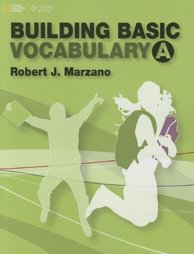 Building Basic Vocabulary A