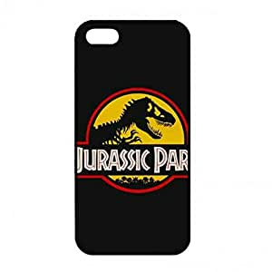 Hard Shell Case Back Cover Para iPhone 5/ iPhone 5s Jurassic Park Cell carcasa de telefono Cover