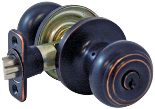 Lewis Hyman 1731605 Atlas Bronze Entry Ball Door Knob, Oil Rubbed (Atlas Bronze Knobs)