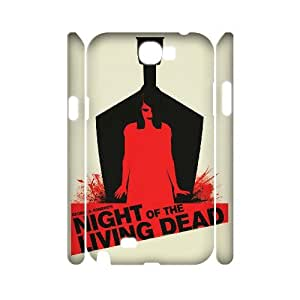 WJHSSB Customized Night of the Living Dead Phone 3D Case For Samsung Galaxy Note 2 N7100 [Pattern-6]