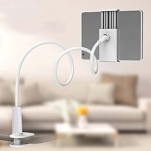 Jacksayso Universal 360 Degree Flexible Table Stand Mount Holder for iPhone iPad Tablets by Jacksayso (Image #6)