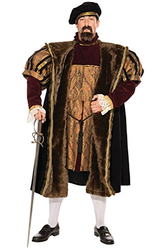 Forum Deluxe Designer Collection King Henry The VIII Costume, Multi, Large ()