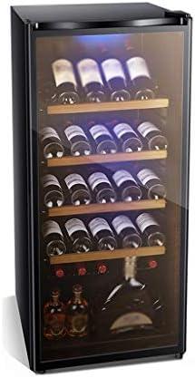 WANGLX ベッドルーム用大型冷蔵庫、飲料冷蔵庫やクーラー - 215L、40dBの、ガラスドア付きドリンク冷蔵庫、ワインのコレクションのためのビッグ飲料冷蔵庫クーラー