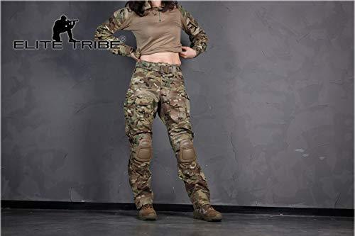 Elite Tribe Militar Caza BDU G3 Combate Uniforme Mujer Camisa ...