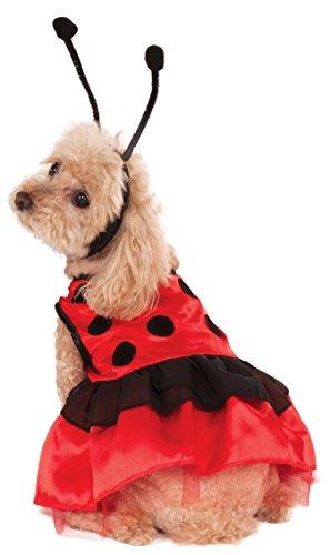 Rubie's Pet Costume, Small, Ladybug Dress