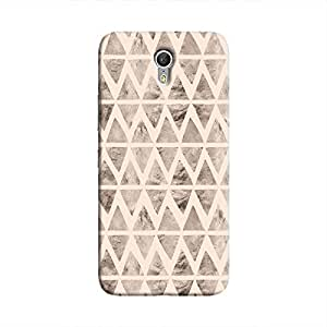 Cover It Up - Stone Triangles Pink Zuk Z1 Hard case