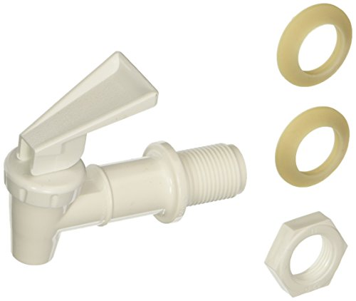 Plastic Replacement Parts - Tomlinson Replacement Cooler Faucet, White
