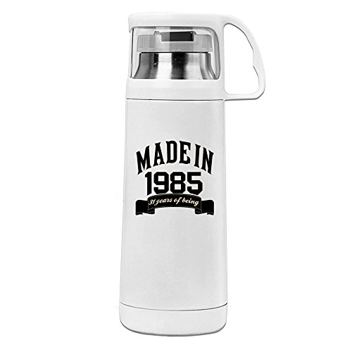 Made In 1985 31 Years Of Being 31th Birthday Convenient Vacuum Insulation Cups Unisex