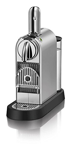 41iX4dMBKdL - Nespresso Citiz C111 Espresso Maker with Aeroccino Plus Milk Frother, Chrome