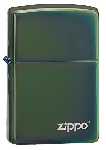 Zippo Pocket Lighter 28129ZL Logo Chameleon Pocket Lighter