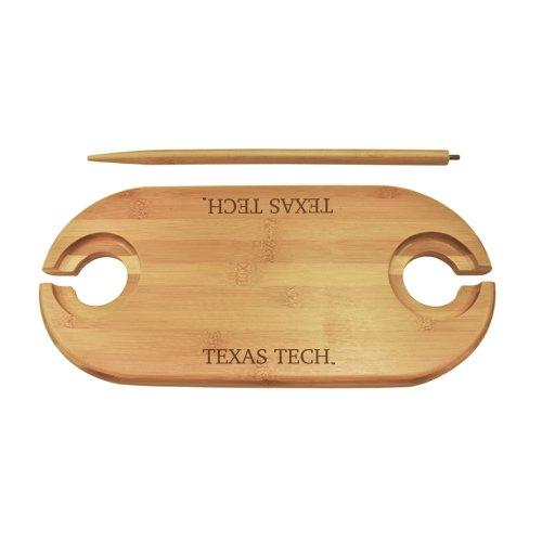 Texas Tech Bamboo Picnic Table