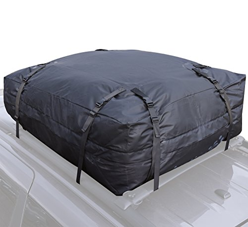 Car Roof Rack Bag - 100% Waterproof Roof Top Cargo Bag for C