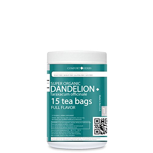 Damiana Leaf Extract (Comforter Herbs Super Organic Dandelion Leaf Tea Bags (Full Strength))