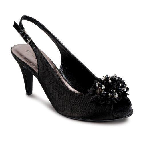 Sapphire pour femme by Noir Sapphire Escarpins Boutique Chaussure axqHwHzIE