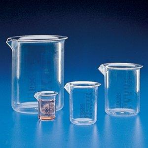 (Globe Scientific 601727-1 Polymethylpentene Griffin Style Low Form Beaker, Printed Graduations, 3000mL Capacity)