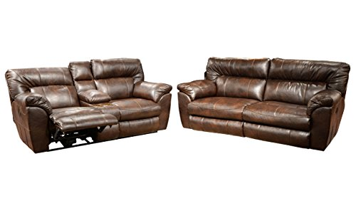 Catnapper Nolan Living Room Set with Sofa and Loveseat