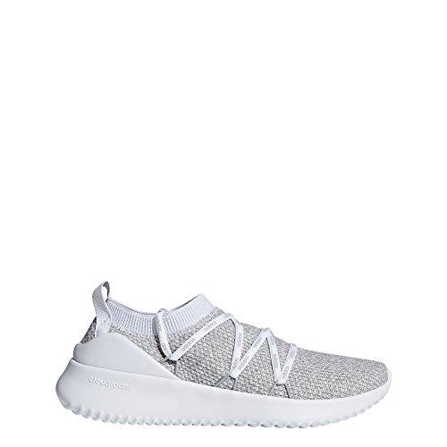 adidas Women's UltimaMotion Running Shoe, White/Grey, 6.5 M US