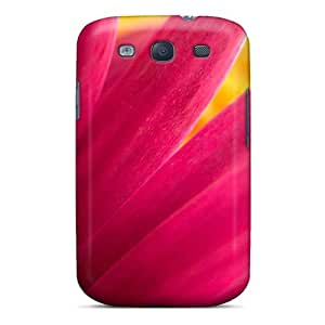 First-class Case Cover For Galaxy S3 Dual Protection Cover Pink Flowerscreen