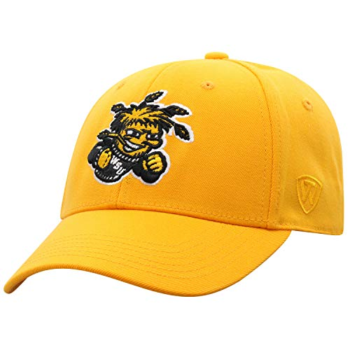 Top of the World Wichita State Shockers Men's Memory Fit Hat Icon, Black, One Fit