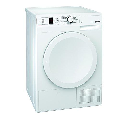 Gorenje D 7565 L Kondenstrockner FL / A++ / 7 kg / weiß / Wärmepumpentechnologie / Startzeitvorwahl 24 / Knitterschutz
