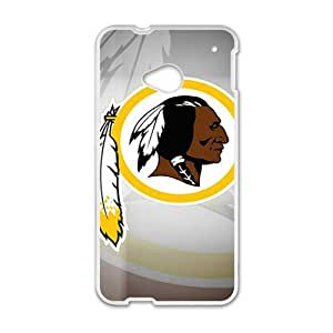 Happy Washington Redskins Fahionable And Popular Back Case Cover For HTC One M7