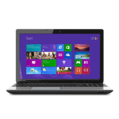 Toshiba Satellite L55B5267 15.6-Inch Laptop (Intel Core i3-4025U, 6GB DDR3L 1600MHz, 750GB (5400 RPM, Serial ATA), Windows - 750gb Laptop Toshiba