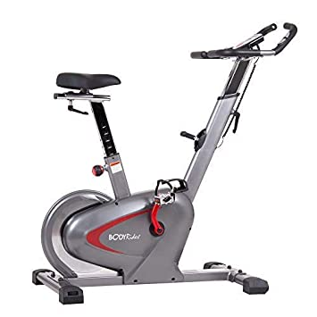 Body-Rider Indoor Upright Bike with Curve Crank Tech and Rear Drive Flywheel BCY6000