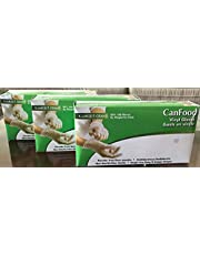 Vinyl Gloves Powder Free Extra Large, Pack of 3, 100 x 3= 300 Pcs, Latex Free, Disposable, Non-Sterile,