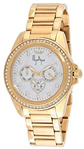 Blade Women's Analog 22K Gold Plated Stainless Steel Watch - 25-3381LSS-GW