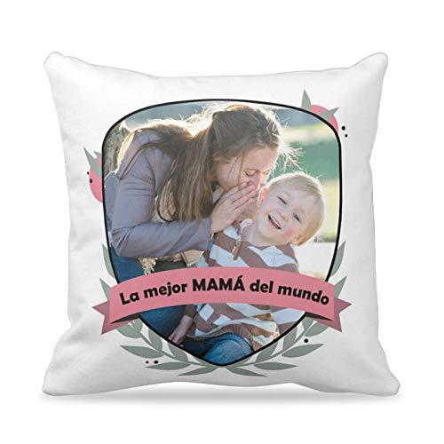 Cojines personalizados con FOTOS Día de la Madre | Cojín ...