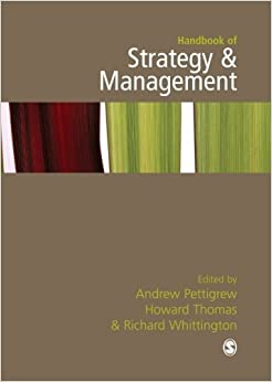 Handbook of Strategy and Management (2006-04-27)