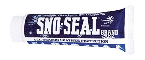 Atsko SNO-SEAL Original Beeswax Waterproofing with Blister Pack, 4-Ounce