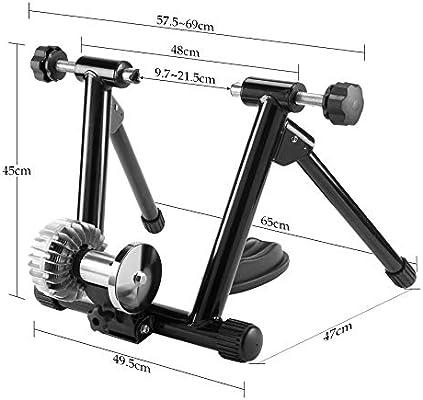 Pinty Set de Rodillo para Bicicleta, Rodillo Magnético de Ciclismo ...
