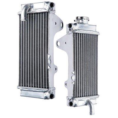 Tusk Aluminum Radiator Set - Fits: Honda CRF250R 2010-2013