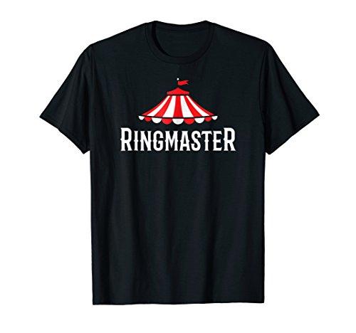 Circus Ringmaster Shirt Showman Costume Kids Women Men Gift