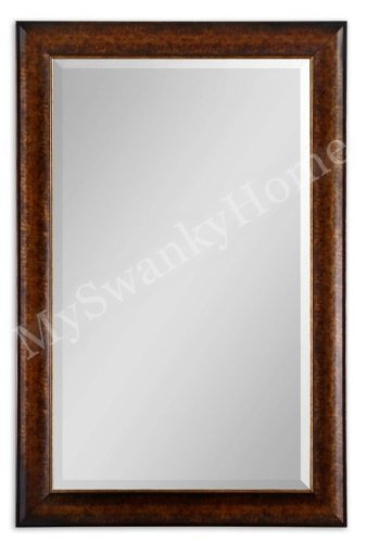 Extra Large 58'' RUSTIC BRONZE Wall Mirror