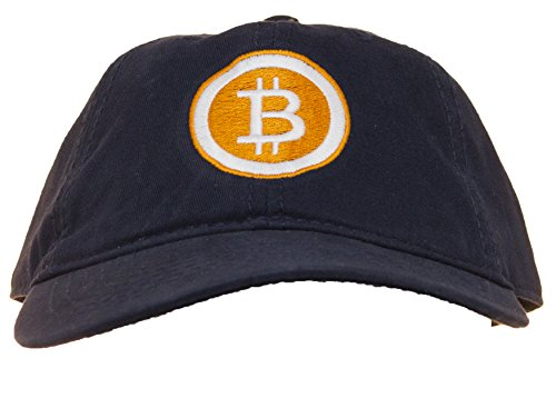 Linda's Gifts Bitcoin Logo Embroidered Adjustable Baseball Cap - Linda Logo