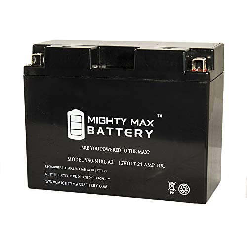 (Mighty Max Battery Y50-N18L-A3 UTV Battery for Arctic Cat 650cc Prowler 650 2008 Brand Product)