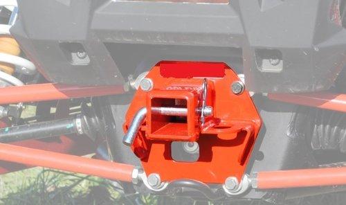 RZR XP 1000 Polaris RED Rear Receiver Hitch New #RH-P-RZR1K-R