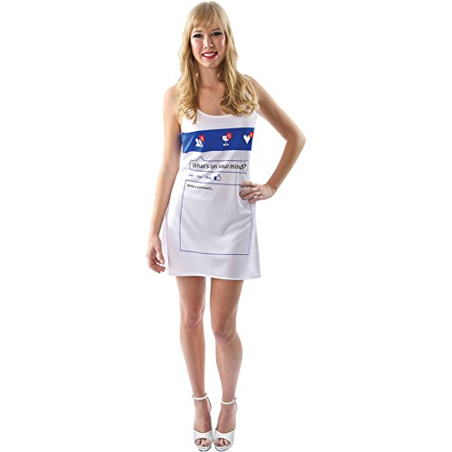 MyPartyShirt Social Network Dress Costume-Womens