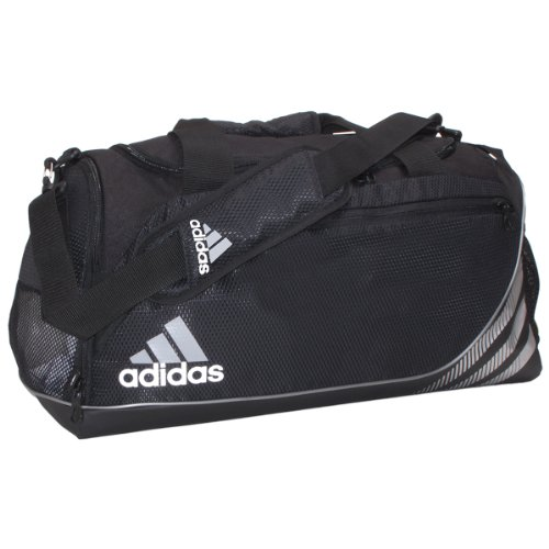 adidas Team Speed Medium Duffel Bag, Black