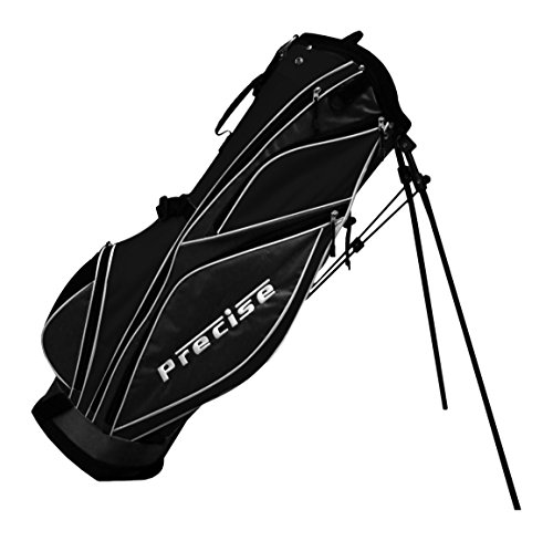 Precise MDX II Golf Stand Bag, Black by Precise