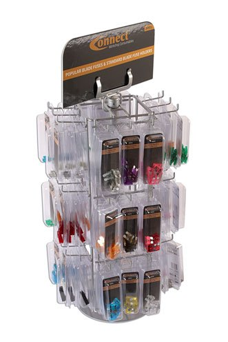 Connect - 36811 Blade Fuse Rack c/w 108 Clam Packs