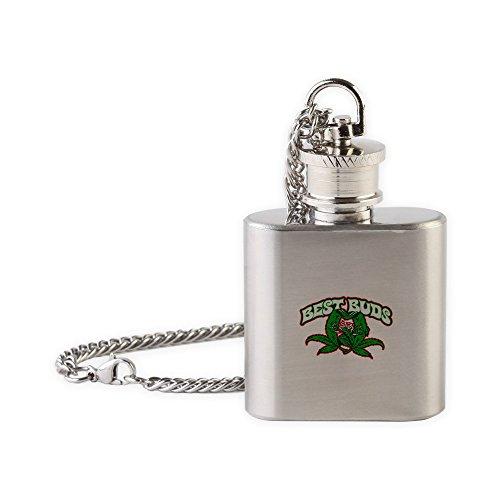 Royal Lion Flask Necklace Marijuana Best (Best Buds Necklace Marijuanas)