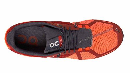 ON RUNNING Cloud Chaussures de course pour les hommes - Couleur: Red/Flash