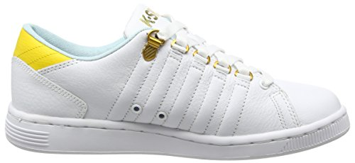 K-Swiss Lozan Iii - Zapatillas Mujer Blanco - White (White/Clearwater/Freesia)