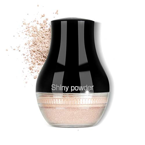Proteove Loose Powder - Glittering Loose Powder for Highlighter or Setting Makeup, Translucent
