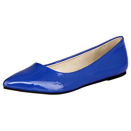 Femmes Femmes Escarpins Pointu Escarpins JOJONUNU JOJONUNU JOJONUNU Pointu Blue Blue ZwBTUvOvq